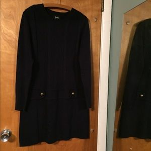 By&By Navy knit mini dress